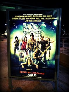 "Can Not Wait for this Movie!:) It's Definitely Goin' 2 B Rockin'!:) And speaking of ""Rock of Ages"", +ES AUDIO Recording Studio in L.A. just had Vivian Campbell the Guitarist of +Def Leppard in the Studio last week!:) haha:)     Rock On!:)     ( #Photo taken w/my #Apple IPhone #4S and Edited w/the #BeFunkyFX #App :)  2012"