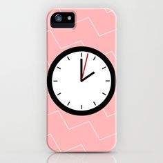 #33 Clock iPhone Case by MNML Thing - $35.00