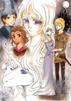 The Last Unicorn - a wonderful fairy tale (read the book and saw the movie)
