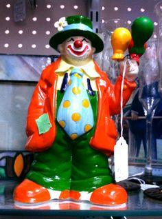 Happy clown.