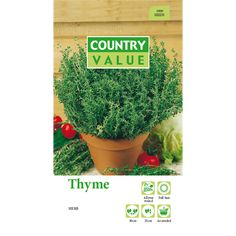 Country Value Thyme Seeds | Bunnings Warehouse