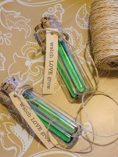 Seed Starter Wedding Favors! Learn how to make this adorable, inexpensive wedding favor for all of your guests. >> http://www.hgtvgardens.com/weddings/diy-seed-starter-wedding-favor?soc=pinterest