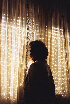 sunlight through curtains