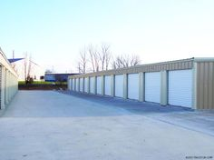 Mini Storage Buildings Plans | Self Storage Metal Buildings for Mini Warehouse Business