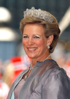 Queen Anne Marie Of Greece Attends The Wedding Of Crown Prince Haakon Of Norway