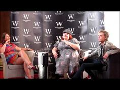 Cassandra Clare, Jamie Campbell Bower and Sarah Rees Brennan Q PART ONE 4/07/13