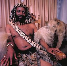 Goodwill Zwelethini, King of Zulu, South Africa. King Goodwill Zwelethini is a direct descendant of the famous King Shaka, founder of the Zulu kingdom. To us Zulus,we call him Isilo.