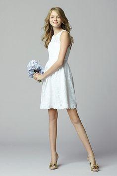 Jr. Bridesmaid dress - Seahorse Dress Gabby