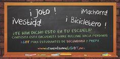 Con la finalidad de recaudar información sobre el acoso que padecen las personas lesbianas, gays, bisexuales y trans en el ámbito escolar en México, un grupo de asociaciones civiles nacionales e in…