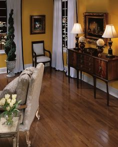 Hardwood Flooring: Oak - Saddle bruce for whole first floor and master bedroom