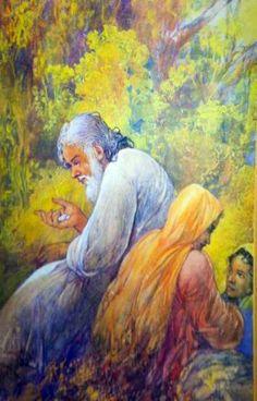 Ustad Allah Bux #Art #Artist #Pakistan #PaintersofPakistan #Painting www.facebook.com/paintersofpakistan
