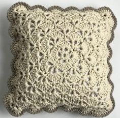 Use this Elegant Lace Crochet Pillow Pattern to learn how to create a fabulous lace texture that you can use for all your future crochet projects.
