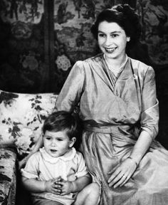 Prince Charles with his mother Queen Elisabeth II
