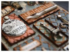 tim holtz tags | 12 Tags of 2014 – May – iGirlZoe | Crafter & Tim Holtz Addict