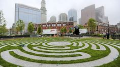 The Armenian Heritage Park is one of six named parks along the Rose Kennedy Greenway. The North End Parks, Wharf District Parks, Fort Point Channel Parks, Dewey Square, and Chinatown Parks make up the others.