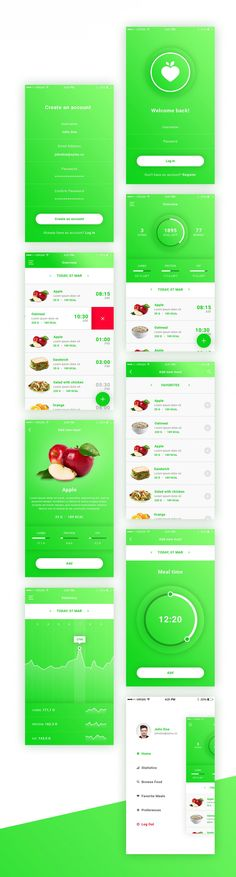 FitApp is a free calorie counting and diet app PSD template which includes high quality 9 screens. This template can be very helpful…