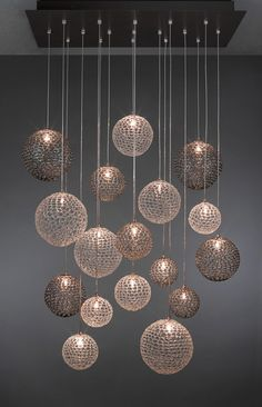 Shakuff - Exotic Glass Lighting and Decor. Suspension lighting is the perfect contemporary lighting option for every kind of house/apartment/hotel/restaurant/bar and to every corner of it. Bedrooms, bathrooms, living rooms and dining rooms should be enhanced with beautiful and modern chandeliers. See more home design ideas, here: http://www.pinterest.com/homedsgnideas/