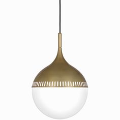 The midcentury inspired Rio Pendant light by Jonathan Adler.