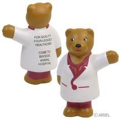 Nurse Bear Stress Relievers