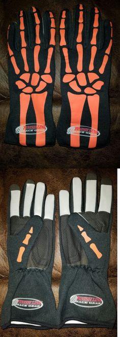Racing-NASCAR 46156: Skeleton Racing Gloves, Go Kart, Driving, Nomex, Finish Line Race Gear, Dale Jr -> BUY IT NOW ONLY: $38.5 on eBay!