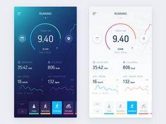 35 Running App UI Design for Inspiration