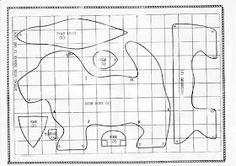 Plushie Patterns, Animal Sewing Patterns, Plushies, Needle Felting, Sewing Projects, Stuffed Animals, Rag Dolls, Pattern Sewing, Tela