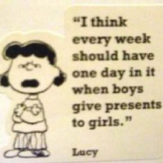 smart cookie that Lucy