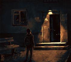 """Visual Necromancy"": The Amazing Art By Boris Groh Arte Horror, Horror Art, Art Épouvante, Jean Leon, Creepy Art, Dark Photography, Dark Fantasy Art, Oeuvre D'art, Les Oeuvres"