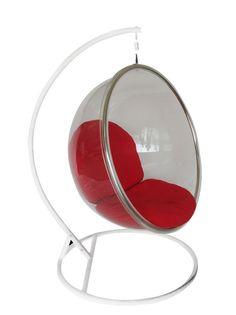 elliott wall clock bubble chairred