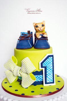 baby pilot cake by Alina Vaganova Cakes Cake Decorating Daily