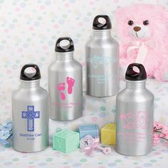 <em>Personalized Expressions  Collection</em> Baby Shower Water Bottle Favors