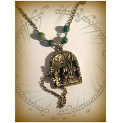Door Of Durin Necklace Curiology