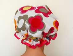 frilly shower cap  http://www.wagdoll.co.uk/2011/10/frilly-shower-cap-and-one-that-went.html#