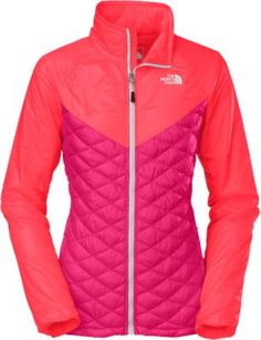 Make a statement when the temperature drops with The North Face Women's ThermoBall Remix Jacket.