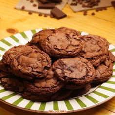 Oatmeal Chocolate Chip Cookies - New ideas Oatmeal Chocolate Chip Cookies, Brownie Recipes, Cookie Recipes, Gourmet Cupcake Recipes, Dessert Recipes, Betty Crocker Brownie Mix, Muffins, Sweet Recipes, Food Recipes