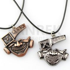 Made of alloy<br /><br />Colours: bronze/silver<br /><br />Options: <br /><br />Phone Chain/Key chain/Necklace/Leather cord necklace<br /> Things To Buy, Stuff To Buy, Tokyo Ghoul, Leather Cord, Take That, Bronze, Key Chain, Charmed, Silver