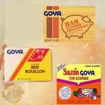 Meat seasonings by Goya offer a one of a kind cuisine taste.