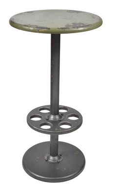 Substation Round Bar Table, Plain