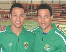 Congratulations to Uitenhage (Eastern Cape) swimmers, Alard and Alaric Basson, for winning gold in the African Championships in Bloemfontein. Alaric, a breaststroke specialist won a gold medal in the breaststroke and silver in the. Basson, 200m, 20 Years Old, My Heritage, Swimmers, Cape, Congratulations, Twins, Polo Ralph Lauren
