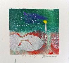 Memory, 2015, tecnica mista, 9.5 x 9 cm