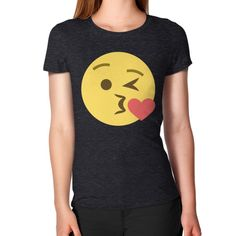 Kiss Emoji Women's T-Shirt