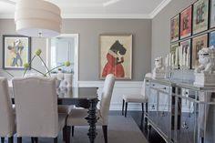 Erik & Paul's Happy Los Feliz Home  House Tour via @Apartment Therapy features our gorgeous Borghese Mirrored Buffet.