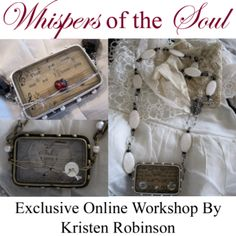 Kristen Robinson: Whispers of the Soul - Ongoing Online Resin Class