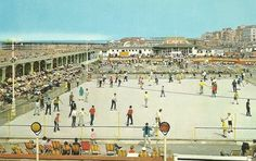 Rhyl's roller rink Old Pictures, Old Photos, Roller Rink, North Wales, My Childhood Memories, Welsh, Historical Photos, Paris Skyline, 1970s