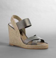 easy metallic sandals