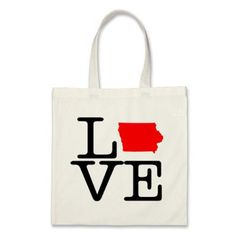 I Love Iowa Tote