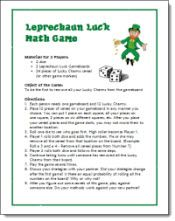 Leprechaun Luck is just one of the free activities you can find at this link.