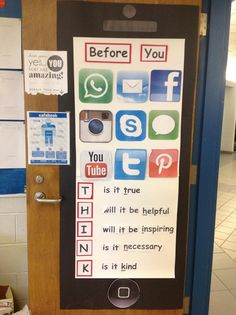 Classroom Poster for Digital Citizenship