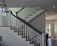 staircase by Lane Design + Build http://www.houzz.com/photos/146119/GARY-M-LANE-traditional-staircase-los-angeles