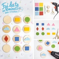 Giochi Montessori: come fare un memory fai da te | DIY memory game inspired by Montessori's method • #DIY #memory #toys #montessori